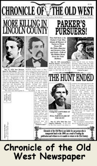 7cf0c35e7c0aa Chronicle of the Old West  Old West Newspaper