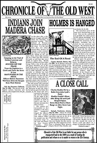 f9a33695cf9a0 When we started Chronicle of the Old West May 2019 Edition