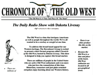 Chronicle of the Old West - The Daily Show