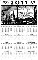 Chronicle of the Old West Calendar Page