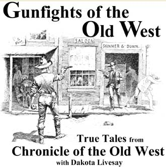 Gunfights of the Old West CD cover