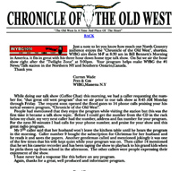 Chronicle of the Old West - Station Testimonials