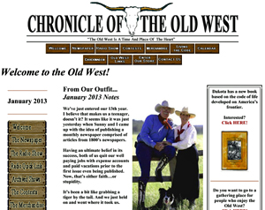 Chronicle of the Old West - The Website